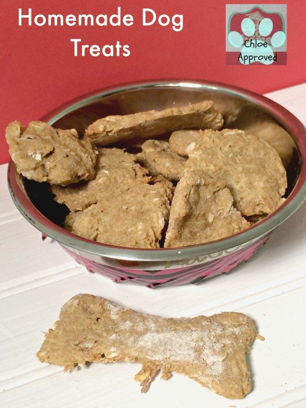 Simple Homemade Dog Treats Recipe
