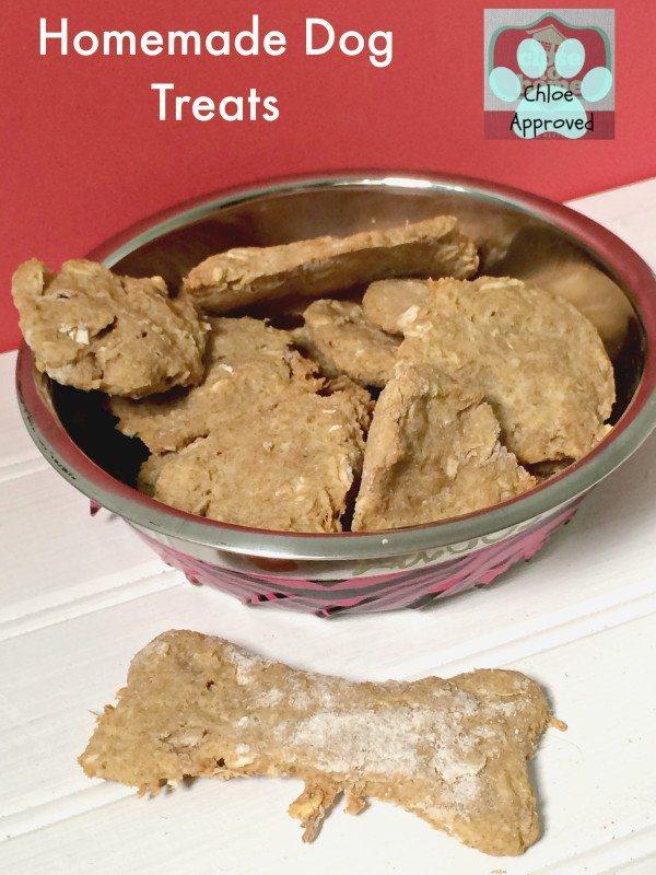 Simple Homemade Dog Treats Recipe