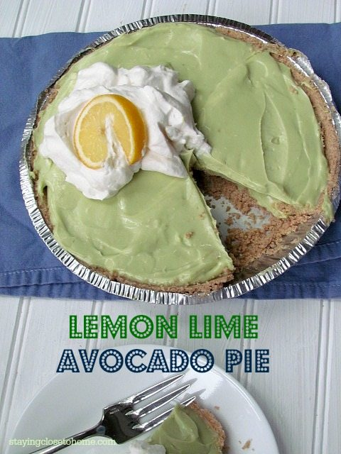 Surprisingly Deceptive Avocado Key Lime Pie Recipe