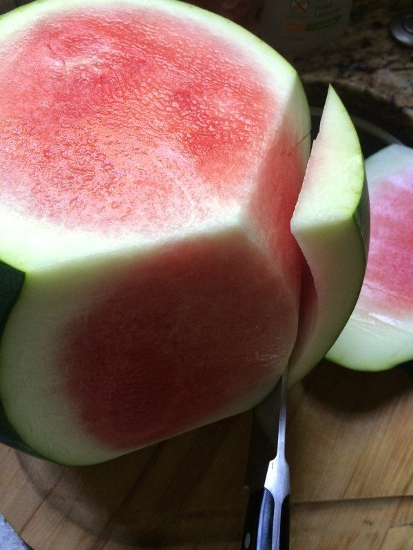Here is one great way to learn how to cut a watermelon for perfect slices.