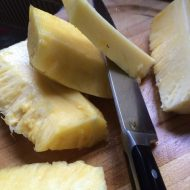 How to cut a Pineapple and Grilled Pineapple Salsa Recipe