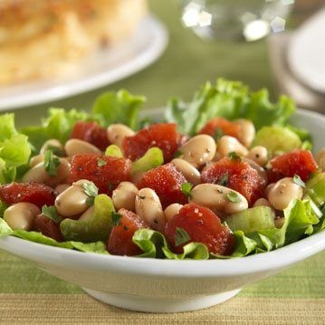 Tomato-and-bean-salad