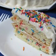 Sprinkle Birthday Cake Recipe