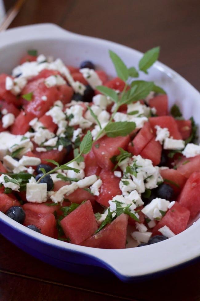 feta watermelon salad recipe