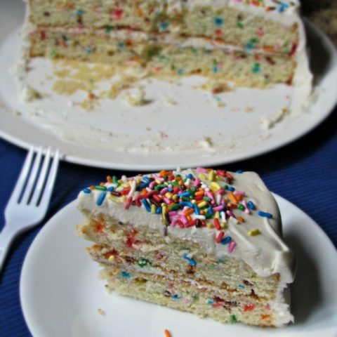 Sprinkle Birthday Cake