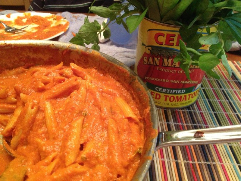 Weeknight Penne With Vodka Sauce Recipe In the Oven