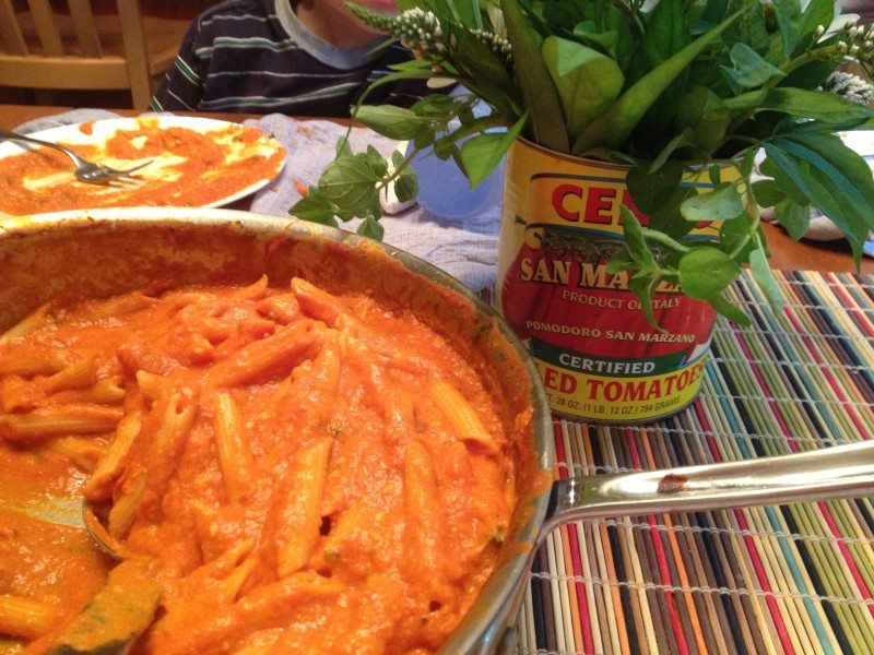 Weeknight Penne With Vodka Sauce Recipe