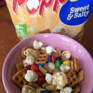 Family Movie Night Snacks featuring Chex Mix Popped