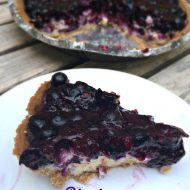 The Best Shortcut Blueberry Cheesecake Pie Recipe