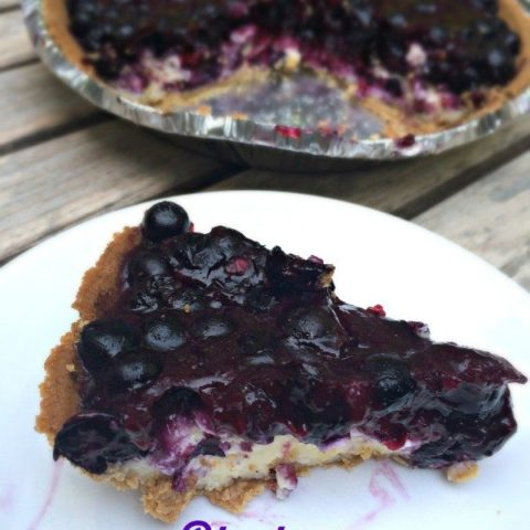 The Best Blueberry Cheesecake Pie Recipe