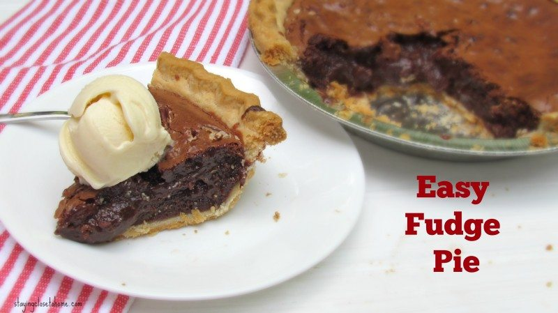fudge pie recipe