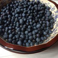 Blueberries–Frozen Blueberry Margaritas