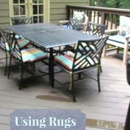Rugs set the stage and Exclusive Wayfair.com Coupon Code