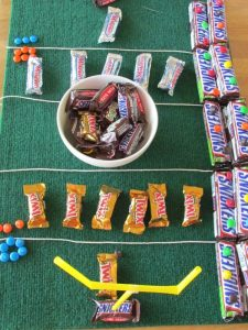 edible football field