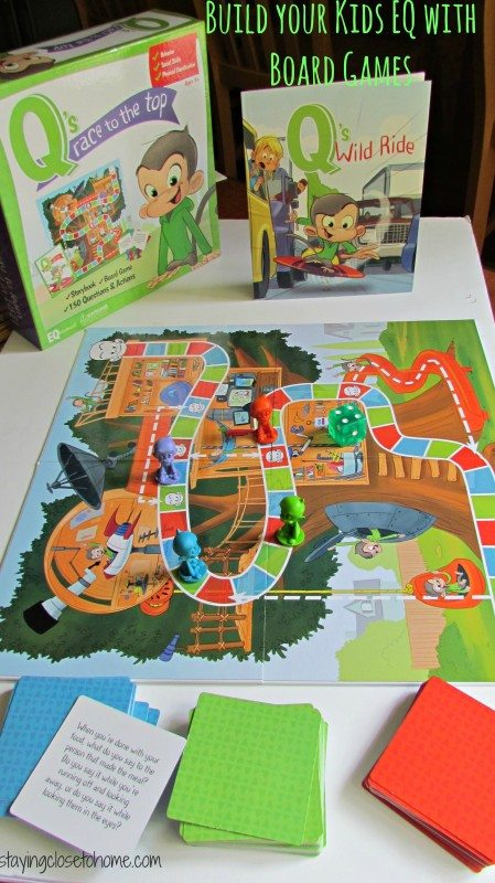 Building your child's EQ through Board Games
