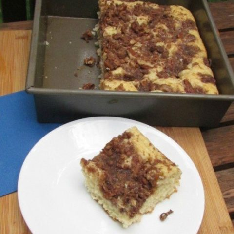 Streusel Filled Coffee Cake