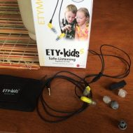 Protect your kids hearing with ETYKids ear phones.