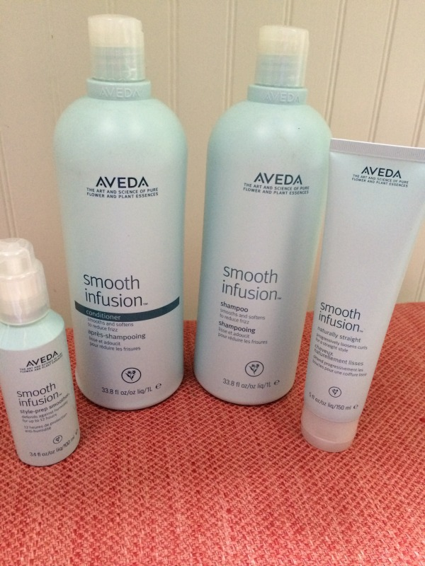 Aveda PRoduct for straightening hair