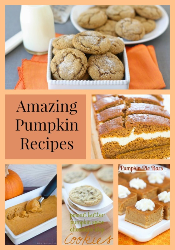 pumpkin-recipe-collage