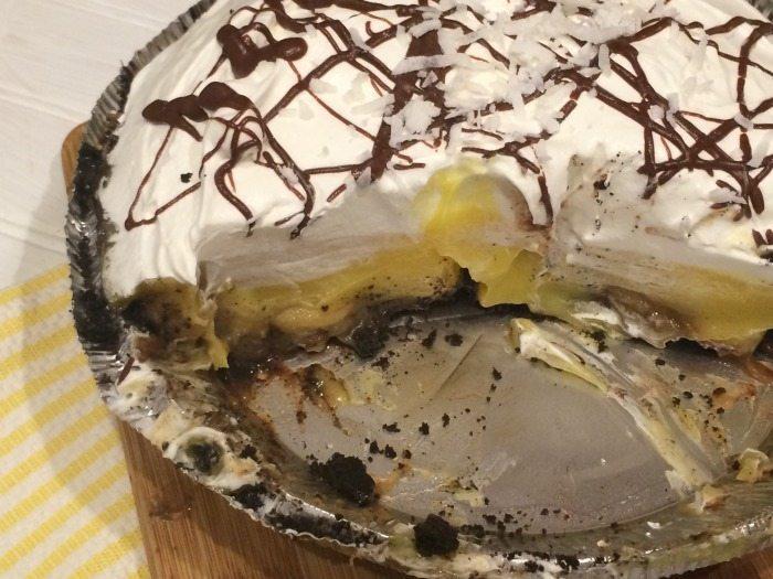 Bananas Foster Pudding Pie Recipe