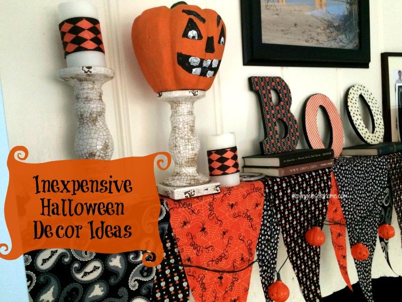 Inexpensive Halloween Decor ideas