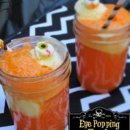 Halloween Drinks Using Fanta