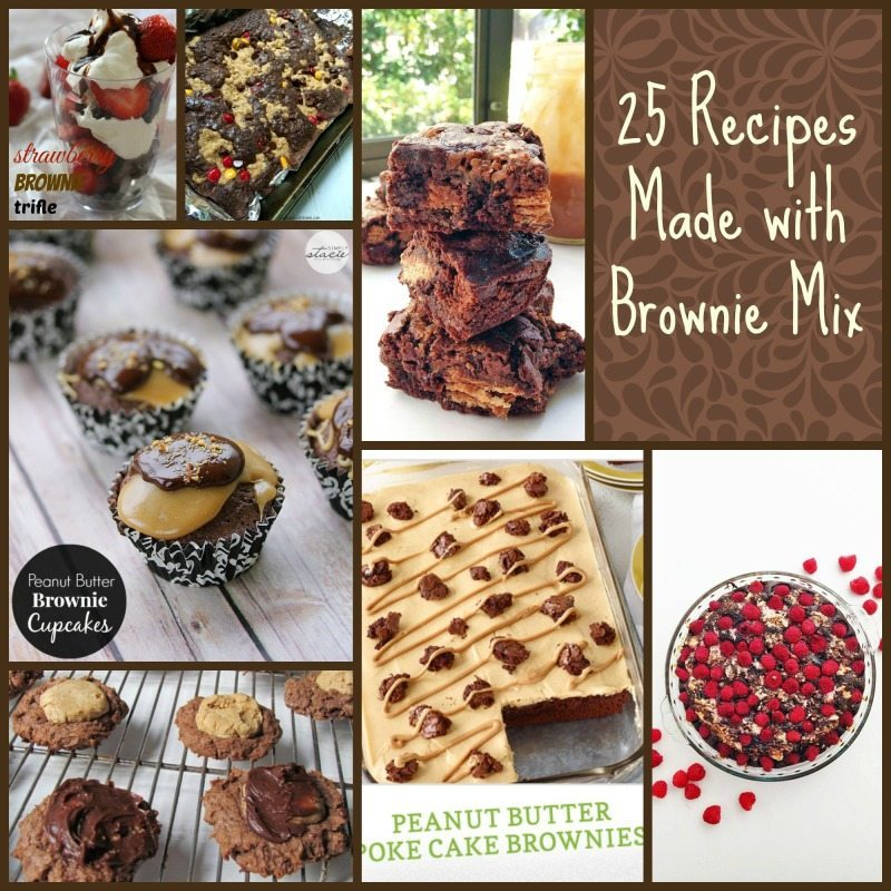 25 Deliciously Easy Recipes Using Box Brownie Mix