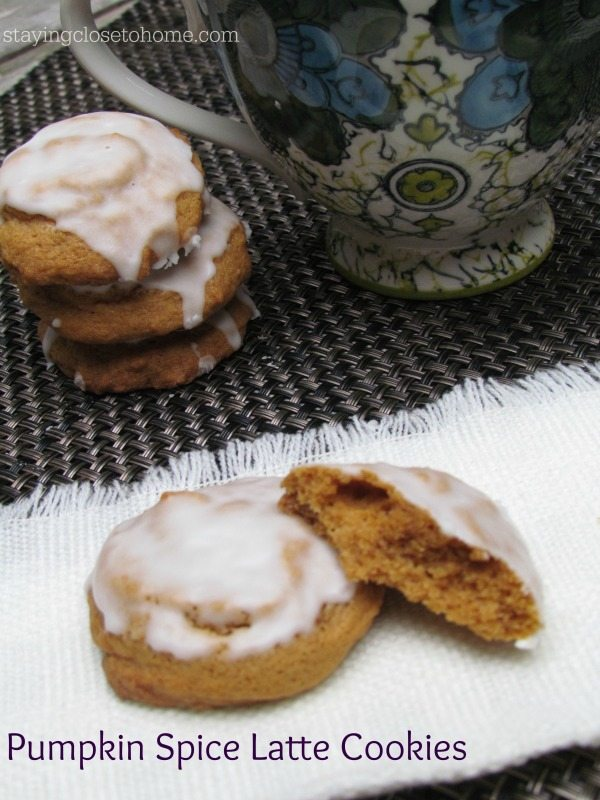 Pumpkin Spice Latte Cookie Recipe