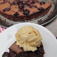 Gluten-free cake- Decadent Cherry Chocolate Cake
