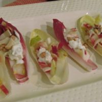 Pear Endive Salad with Blue Cheese Dressing