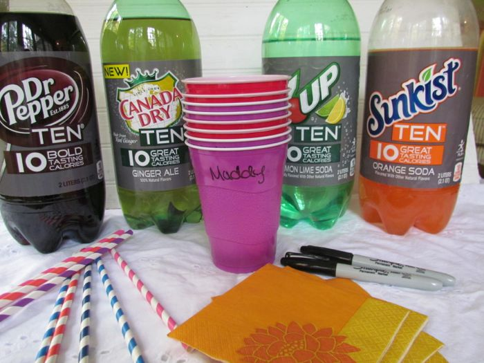 soda bar for kids Low Fat Pound Cake Recipe using Sunkist and 7UP Ten