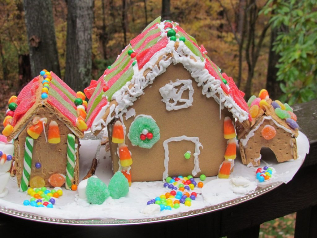 Premade Gingerbread Houses Easy Baking Ideas For Our Cookie Exchange
