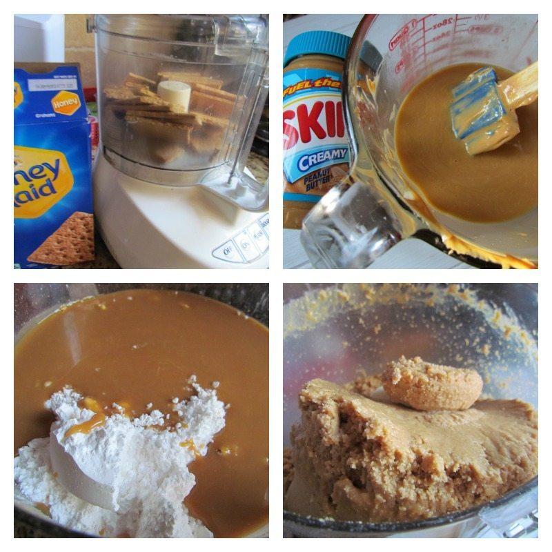 Peanut butter bar steps