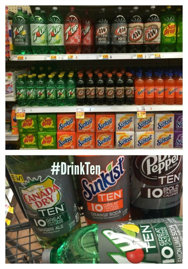 Ten products at Kroger