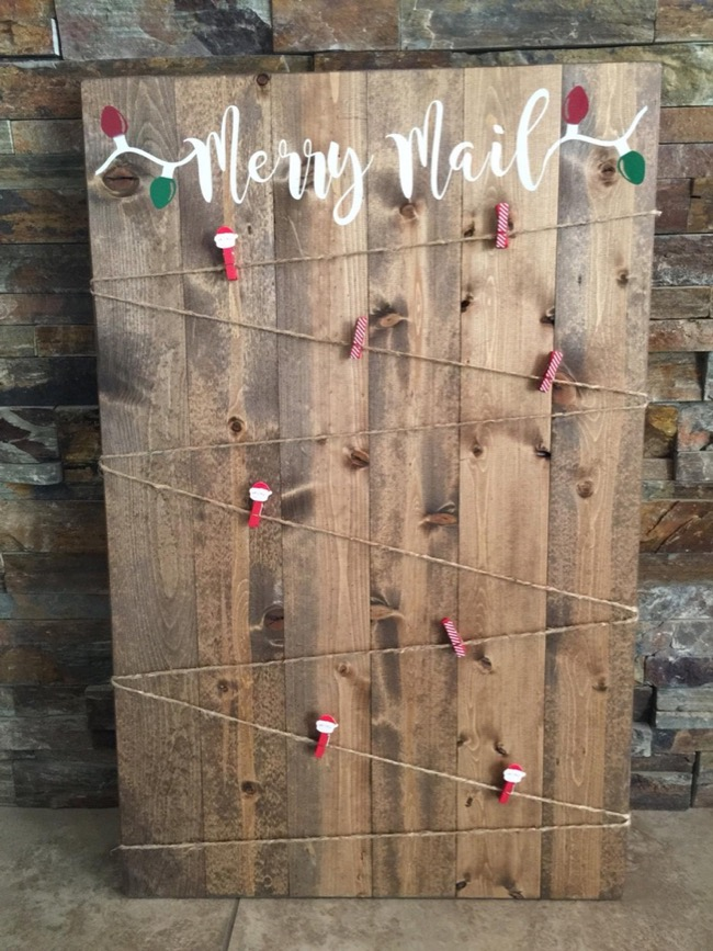 how-to-display-holidaycards diy