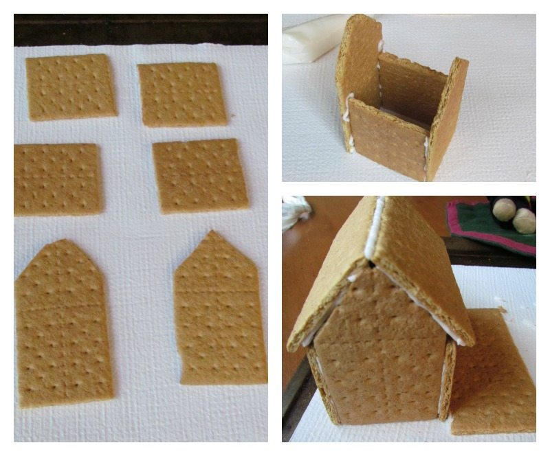 how to build gingerbread house