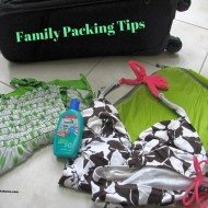 Packing Tips for Traveling with Kids and $100 Giveaway