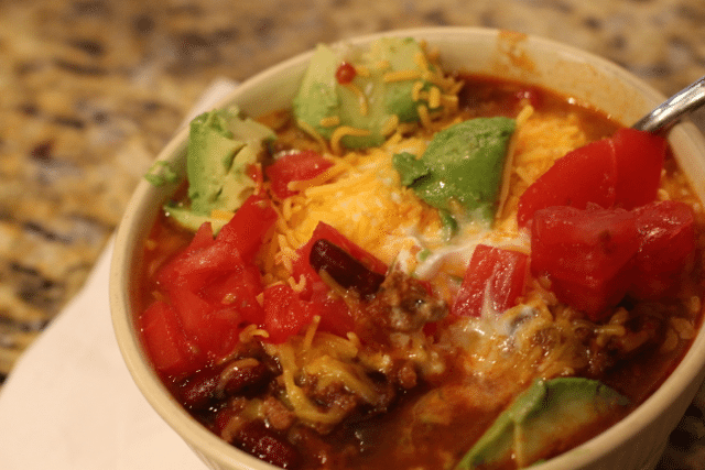 Game Day Recipes: Grandma Beef Chili Recipe