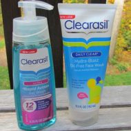 A Teen's Skin Care Routine with Clearasil