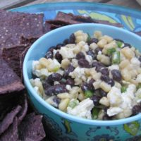 Black Bean, Corn and Feta Dip