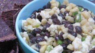 Black Bean, Corn and Feta Dip
