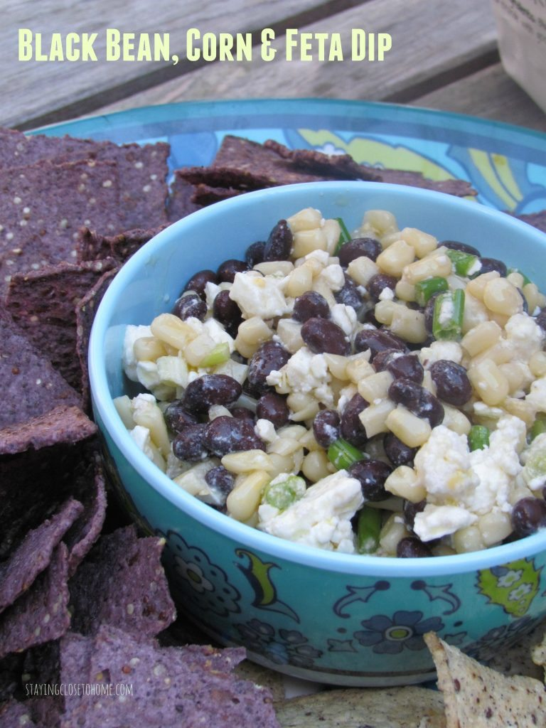 Black Bean, Corn and Feta Dip Recipe