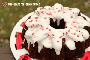 peppermint cake with box mix