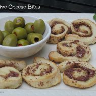 Mezzetta Holiday Recipes:  Olive Cheese Bites