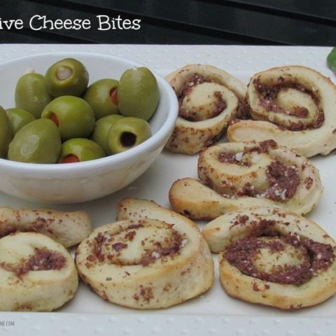 Olive Cheese Bites and Tapanade Recipe