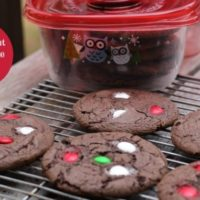 Mint Chocolate Cake Mix Cookies