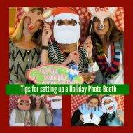 Tips To Make the Perfect Holiday Party Photo Booth