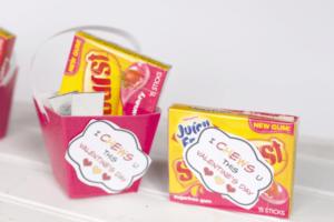 Gum valentines printable