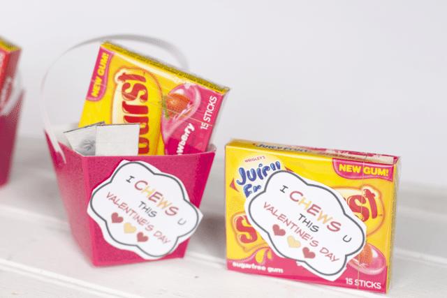 starburst-gum-valentines ideas