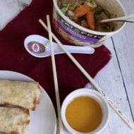 Super Easy Dinner Ideas Easy: Baked Egg Rolls Recipe and Frozen Tai Pei Entrees